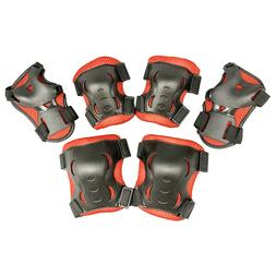 Child Protective Gear Set Cycling Elbow Pads with Wrist Guar