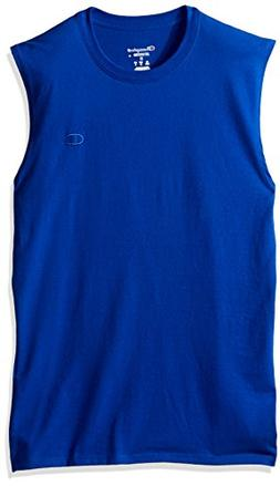 Champion Men's Classic Cotton Muscle Tee Surf The Web XXL