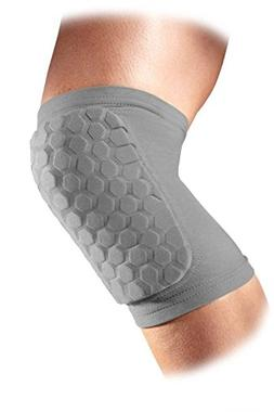 McDavid Classic Hexforce Knee/Elbow/Shin Pads  - Grey, Mediu