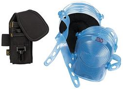 CLC  - PK6105 - Hard Shell 2-Strap Removable Cap Knee Pads w