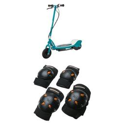 Razor E200 Electric Scooter - Teal and Mongoose BMX Bike Gel