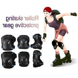 Elbow Knee Pads Wrist Guard Protective Gear Set for Skateboa