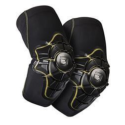 G-Form Pro-X Elbow Pads, Black/Yellow, Adult Large