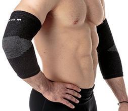 Mava Sports Elbow Sleeve Recovery Compression, Size L – Su