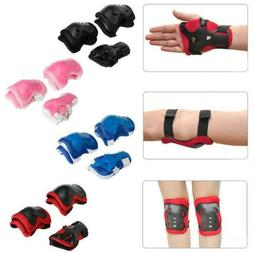 Elbow Wrist Knee Guard Protective Pad Cycling Skating Safety