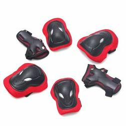 Elbow Wrist Knee Pads Sports Safety Protective Gear Guard fo