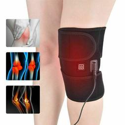 Electric Heated Knee Pad Arthritis Pain Relief Warm Therapy