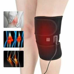 Electric Heated Leg Knee Pad Arthritis Pain Relief Warm Ther