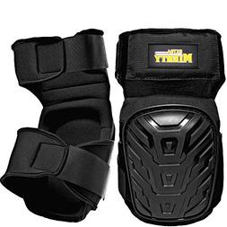 ExtraMighty Professional Knee Pads - Heavy Duty Foam Padding
