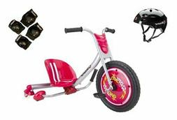Razor Flash Rider 360 Drifting Ride-On Tricycle with Helmet,
