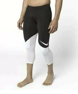 Nike Football Knee Padded Hip/Knee 3/4 Compression Pants $70