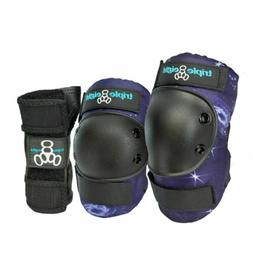Triple Eight Galaxy 3 - Pack Junior - Knee Pads, Elbow Pads,