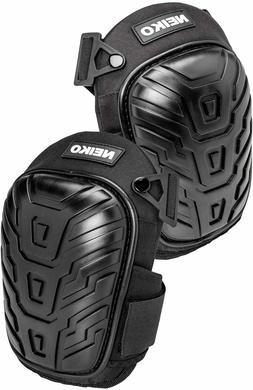 Gel Knee Pads Adjustable Foam Padding Heavy Duty for Work Ga