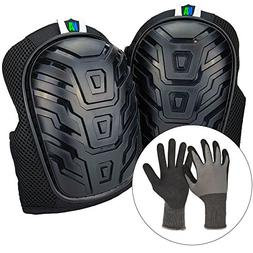 Knee Armor Heavy Duty Professional Knee Pads with Gel Cushio