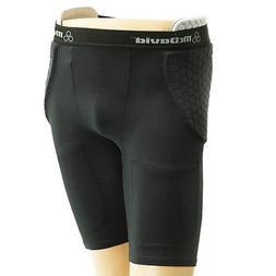 McDavid hexpad girdle w/high hip pads-black