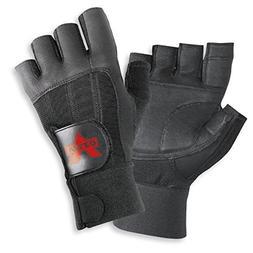 Valeo Industrial V440 All Leather Pro Fingerless Anti-Vibe G