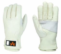 grain leather multi task gloves