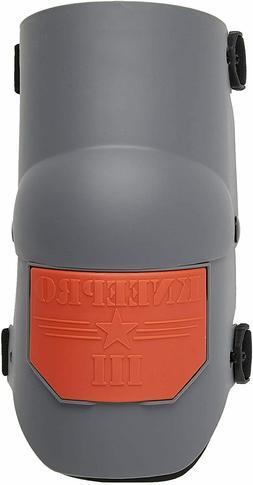 Industries Knee Pro Ultra Flex III Knee Pads - Gray and Oran