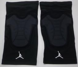 Nike Jordan Pro HyperStrong Padded Knee Sleeves Black/White