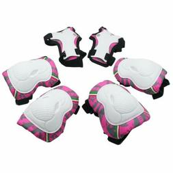 Kuyou Kids Protective Gear,Knee Elbow Pads And Wrist Child'S