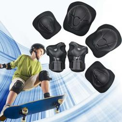 Kids SKL Protective Gear Knee Pads Elbow Wrist for Skating B