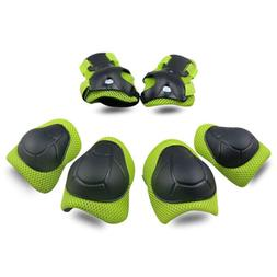 Kids Protective Gear SKL Knee Pads Knee Elbow Pads With Wris
