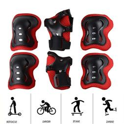 Kids Rollerblade Skateboard Skating Knee Elbow Wrist Protect