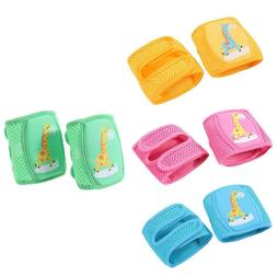 Kids Safety Crawling Elbow Kneepads Infants Toddlers Baby Kn