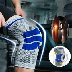 Knee Brace Support Sports Nylon Sleeve Pad Compression Sport