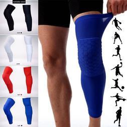 Knee Pad Basketball Leg Protector Long Crashproof Antislip H