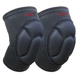 Ueasy Knee pad Breathable Knee Support Crashproof Antislip L