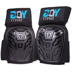 Professional Knee Pads With Comfort Click Belt Strap For Kne