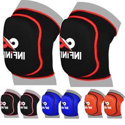 Knee Pads Brace Leg Support Joint Protector MMA Gear BasketB