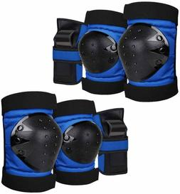 Geelife Knee Pads Elbow Pads Wrist Guards 3 In 1 Skateboard