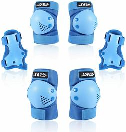 Knee Pads Elbow Set for Skating Cycling Bike Rollerblading S