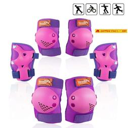 Enilecor Knee Pads For Kids/Youth Rollerblade Roller Skates