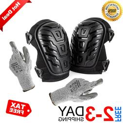 knee pads for work construction gel knee
