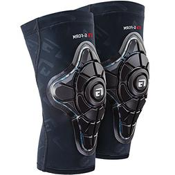 G-Form Pro-X Knee Pads, Black/Teal Camo, Youth Small/Medium