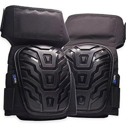 RNF Professional Knee Pads - Durable Thigh Straps. Stays in