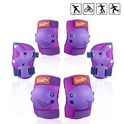 eNilecor Kids Knee Pads, Child Protective Gear Set, Toddler