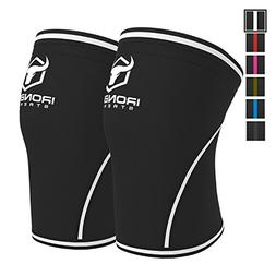 Iron Bull Strength Knee Sleeves 7mm  - High Performance Knee