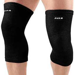 Mava Sports Knee Support Sleeves  for Joint Pain & Arthritis