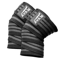 Mava Sports Knee Wraps  for Cross Training WODs,Gym Workout,