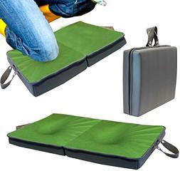 Knee Pad Extra Thick | Memory Foam Garden Kneeling Pad Tote
