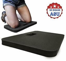Kneeling Pad - Large Cushioned Multi-Functional Kneeler for