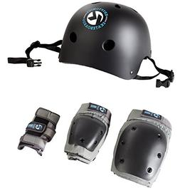 Kryptonics California 4-in-1 Pad Set with Helmet - Adult Siz