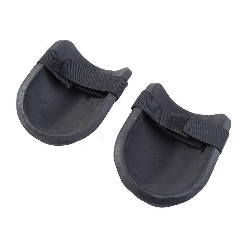 1 Pair Gear <font><b>Pads</b></font> with <font><b>Foam</b></font> Cushion Black