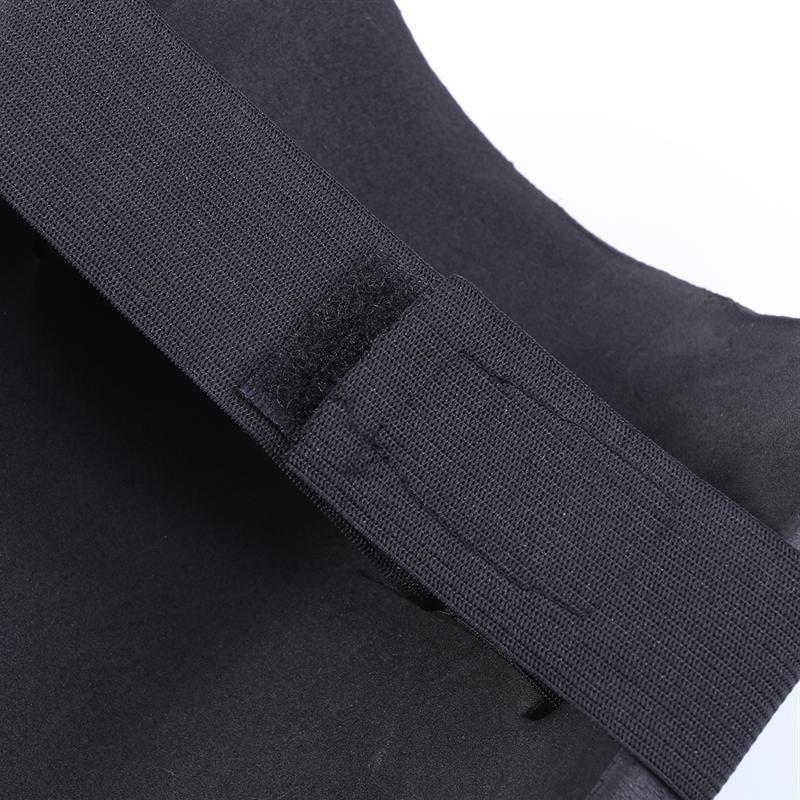 1 Pair Protective Gear Soft <font><b>Knee</b></font> with <font><b>Foam</b></font> Cushion Soft Black