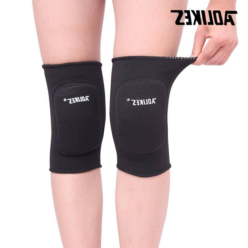 AOLIKES Adult Dancing Skating <font><b>Skateboard</b></font> Cycling Sponge <font><b>Knee</b></font> Anti-crash Kneepads Protector