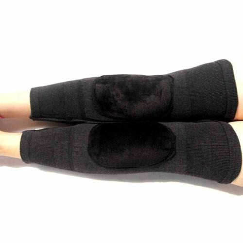 1 Pair Men Warm Knee Wool Elastic Thermal Winter